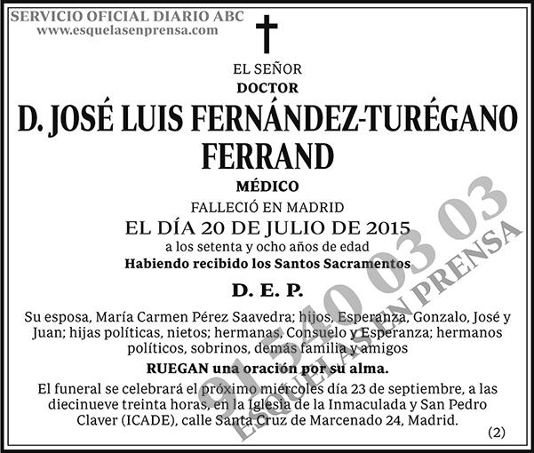 José Luis Fernández-Turégano Ferrand